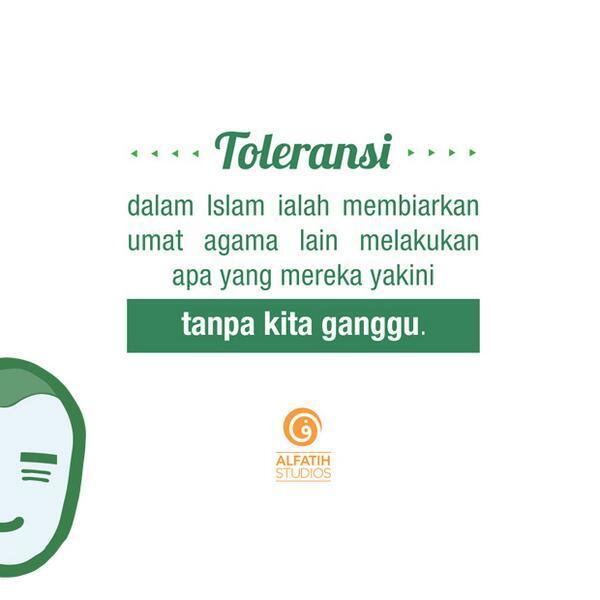 Islam Toleransi Tanpa Pluralisme